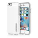 Incipio DualPro Shine Case for Apple iPhone 6/6S - White/Gray