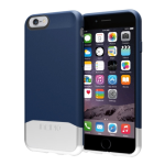 Incipio Edge Chrome Case Cover for Apple iPhone 6 (Blue/Silver)