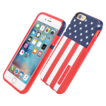 Incipio DualPro Prints Shock Absorbent Case for iPhone 6/6s - American Flag