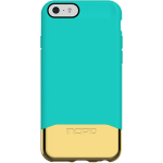 Incipio Edge Chrome Case for Apple iPhone 6/6S (Teal/Gold)