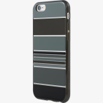 Incipio Design Hard shell Case for iPhone 6/6s - Hensley Stripes on Black