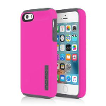 Incipio DualPro Case for iPhone SE/5/5s - Pink/Charcoal
