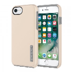 Incipio DualPro Shock-absorbing Case for Apple iPhone 7, 6/6S - Iridescent Champagne/Gray