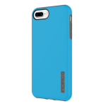 Incipio DualPro Case for Apple iPhone 6 Plus / 6S Plus / 7 Plus / 8 Plus (Cyan and Charcoal)