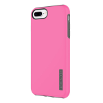 Incipio DualPro Case for Apple iPhone 6 Plus / 6S Plus / 7 Plus / 8 Plus (Pink and Charcoal)