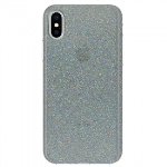 APPLE IPHONE X INCIPIO DESIGN CLASSIC SERIES CASE - MIDNIGHT CHROME MULTI-GLITTER