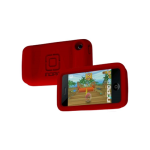 Incipio Technologies - duroSHOT Silicone Case for Apple iPhone 3G/3GS - Action Red