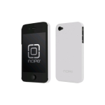 Incipio Feather Ultralight Hard Shell Case for Apple iPhone 4/4S - White (Tonic)