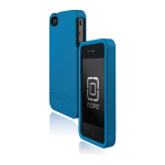 Incipio EDGE Hard Shell Slider Case for Apple iPhone 4/4S - Pearl Turquoise