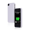 Incipio offGRID Battery Case for Apple iPhone 4/4SS - White