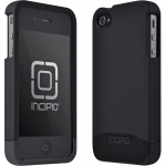 INCIPIO EDGE PRO Hard Shell Slider Case.Matte Black/Black Chrome.