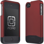 INCIPIO EDGE PRO Hard Shell Slider Case.Iridescent Red/Black Chrome.