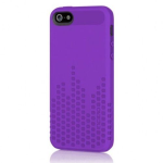 Incipio Frequency Pattern Case for iPhone 5/5s - Royal Purple