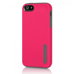 Incipio DualPRO Shock-absorbing Case for iPhone 5/5S/SE - Cherry Blossom Pink/Charcoal Gray