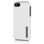 Incipio DualPRO Case for Apple iPhone 5/5s/SE - Optical White / Charcoal Gray
