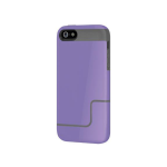 Incipio EDGE PRO Case for iPhone 5/5s/SE - Vivid Violet / Charcoal Gray (Purple/Gray)