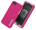 Incipio DualPro Shock-absorbing Case for iPhone 5/5S/SE - Pink/Pink