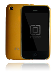 Incipio Feather Shield for Apple iPhone 3G -  Sunburst Yellow