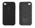 SPECK CandyShell hard shell, soft centercase. Batwing Black.
