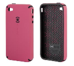 SPECK CandyShell hard shell, soft centercase. LoveHate Pink.