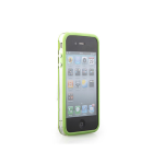 Bumper Frame Case for Apple iPhone 4/4S (Translucent Green)