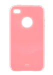 Frame Case for Apple iPhone 4/4S (Pink)