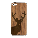 Toast Real Wood Stag Cover for Apple iPhone 5/5s - Walnut