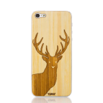 Toast Stag Wood Case for Apple iPhone 5/5S - Bamboo