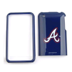 MLB Atlanta Braves Protective Case for Apple iPhone 3G