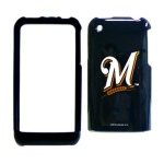 MLB Milwaukee Brewers Protective Case for Apple iPhone 3G