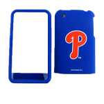 MLB Philadelphia Phillies Snap-On Protective Case for Apple iPhone 3G