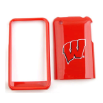 NCAA Wisconsin Badgers Protective Case for Apple iPhone 3G
