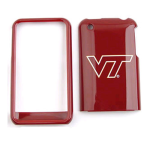 NCAA Virginia Tech Hokies Protective Case for Apple iPhone 3G