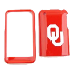 NCAA Oklahoma Sooners Protective Case for Apple iPhone 3G