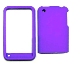 Cell Armor Snap-On Case for Apple iPhone 3G - Fluorescent Solid Dark Purple