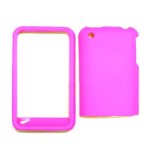 Cell Armor Snap-On Case for Apple iPhone 3G - Fluorescent Solid Hot Pink