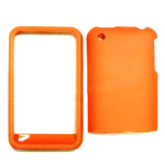 Cell Armor Snap-On Protector Case for Apple iPhone 3G - Fluorescent Solid Orange