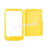 Cell Armor Snap-On Case for Apple iPhone 3G - Fluorescent Solid Yellow