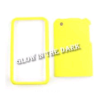 Cell Armor Snap-On Case for Apple iPhone 3G - Glow in the Dark, Solid Yellow