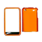 Cell Armor Snap-On Case for Apple iPhone 3G - Honey Burn Orange