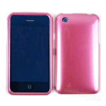 Cell Armor Snap-On Case for Apple iPhone 3G - Honey Pink