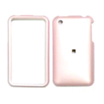Cell Armor Snap-On Case for Apple iPhone 3G - Peral Baby Pink