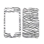 Cell Armor Snap-On Case for Apple iPhone 3G - Leather Finish Zebra Print