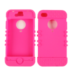 Unlimited Cellular Rocker Series Skin Case for Apple iPhone 4/4S (Fluorescent Magenta)
