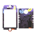 Unlimited Cellular Rocker Snap-On Case for Apple iPhone 4/4S (Cat  Halloween Series)