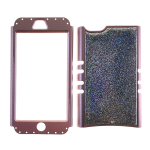 Rocker Snap-On. Crystal Glitter Design&Rose Gold