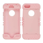 Rocker Series Skin Case for Apple iPhone 5/5S (Pink)