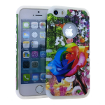 Rocker Slim Case. Flower Design