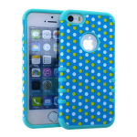 Rocker Series Slim Protector Case for Apple iPhone 5 / 5S (Dots)