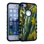 Rocker Series Slim Protector Case for Apple iPhone 5 / 5S (Hunter with Big Branch Snap and Black Skin)